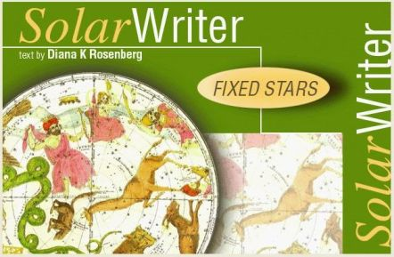 Solar Writer Fixed Stars